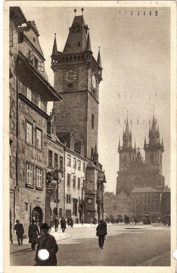 Prague Square 1915