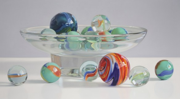 Hyperrealistic Painting_marbles