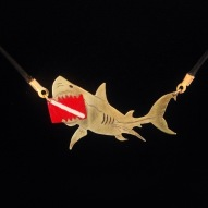 Custom Order Shark with Dive Flag
