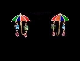 Umbrella Earrings