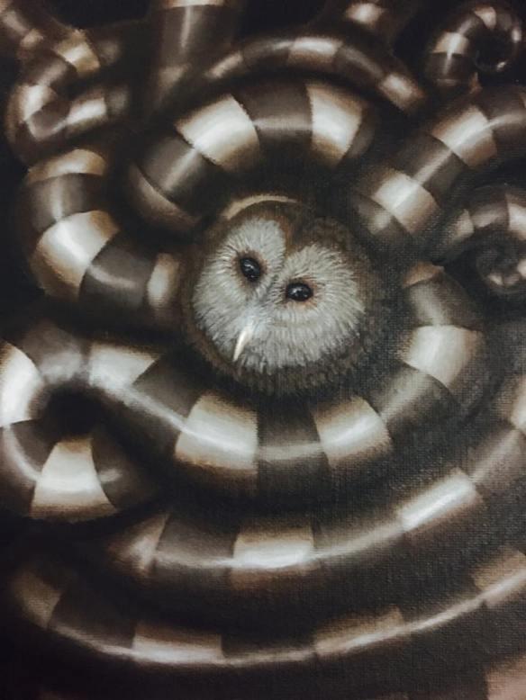 Bird Owl_Early Worm Gets the Bird Series 2016__Raul D-Mauries