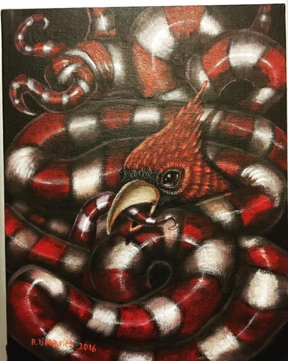 Cardinal_2_Early Worm Gets the Bird Series 2016__Raul D-Mauries