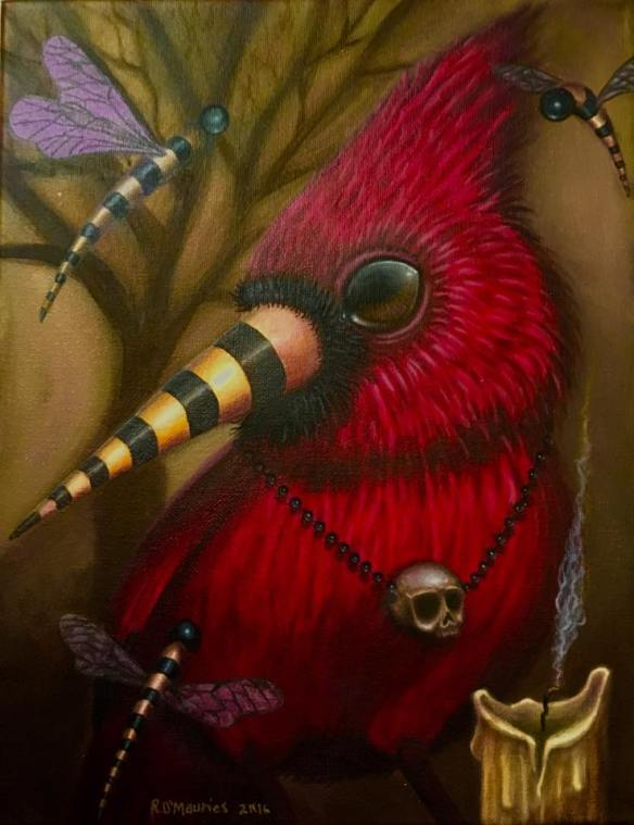 Cardinal_Early Worm Gets the Bird Series 2016__Raul D-Mauries